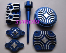 pit bike parts, alloy dress up parts for engines