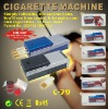 Cigarette machine with 3 tubes