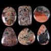 C274 Multi-color camuflage jasper cabochon semi-precious gemstone