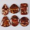 C275 New rainbow jasper cabochon semi-precious gemstone