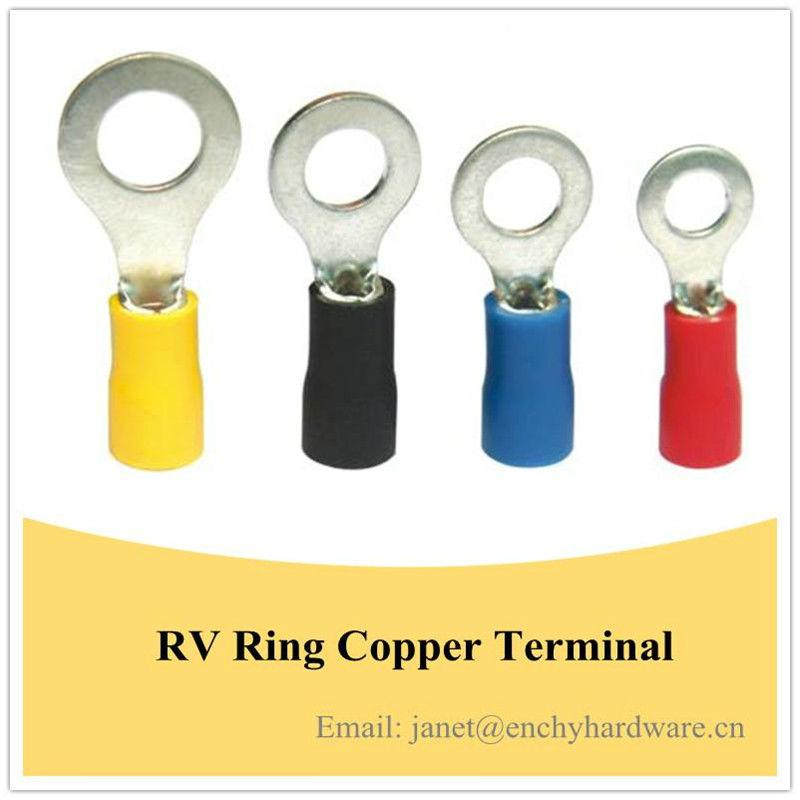 RV Coated tin ring nude copper lug,ring lug,wire lug,crimp lug