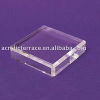 Acrylic Square Beveled Bases