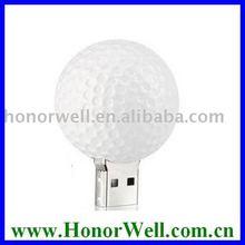 Oem Logo Free Promotion Gift Golf Ball Usb Drive