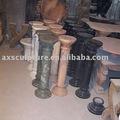 De mármol blanco de la columna ( fábrica )
