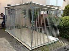 Large PVC coated dog cage