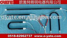 carbon fibre quartz heating tube U sharp