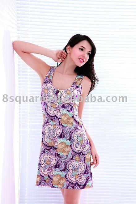 Wholesale woman underwear sexy Nightgown lace elegant sleepdress(China .
