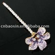 Graceful diamond flower Alloy Hair pin
