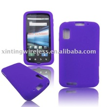 New Silicone Skin Case For Motorola Atrix 4G/MB860 Purple