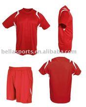 2012 Women Short Sleeve Soccer Jersey Soccer Shorts Soccer Uniform