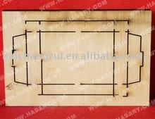 Double Heads Laser Corrugated Box Making Machine/ Laser Die Cutting