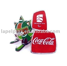 Olympic Mascot Lapel Pin