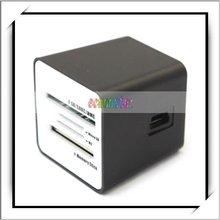 Classic Vase-Shaped Black 4 Slot USB 2.0 Card Reader