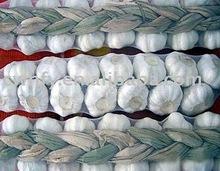Braid white garlic