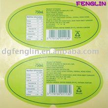 Dongguan Products' Description Sticker