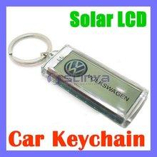 Solar Powered LCD Keychain Promotion Keychain
