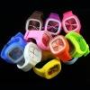 Silicio Unisex Deportes ODM reloj de pulsera