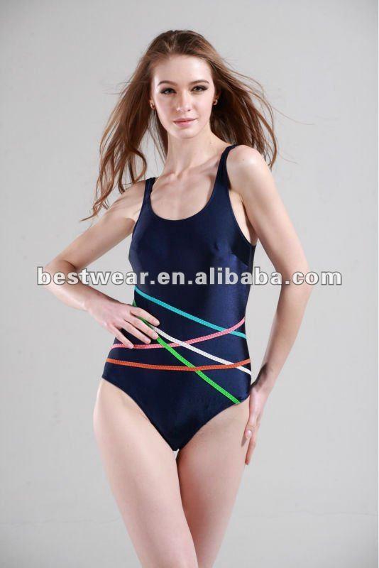 2011 japanese brand black one piece swimwear in-stock ,sexy,