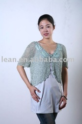 Ladies' 100% Viscose Crochet wear LAQ-4354