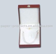 2012 hot product modern custom red paper jewelry gif box