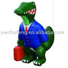Pu mousse antistress dinosaur stressball cadeaux de dinosaures