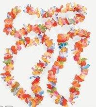 Ruffle petal flower lei