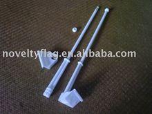 detachable car flag pole, big bracket