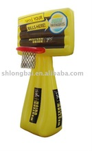 Inflatable basketball stands