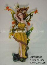 Polyresin fairy decoraiton