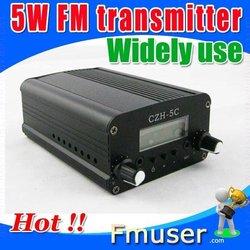 FM radio transmitter 5watt transmisor fm