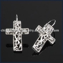 ER768 Hot Sale Cross Charm Earring