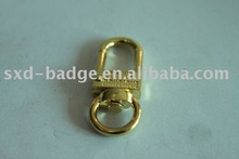 dog clips/gold-plated
