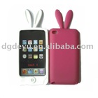 Rabbit silicone cell phone case for iphone 4&4G