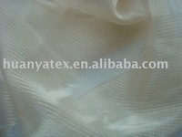 organza fabric with gold lines