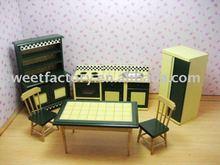 Mini Dolls House Furniture- kitchen Room Set