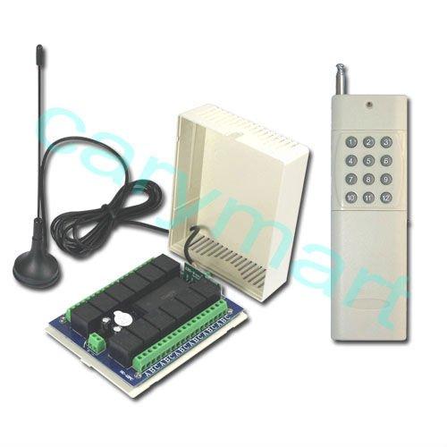 2000m 12 ch dc12v door alarm