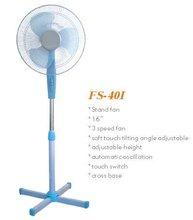 "Cooling 3 Speed NEW 16"" Oscillating Extendable Standing Tower Pedestal FAN"