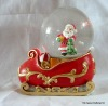 Polyresin Santa Claus Water Globe Decoration Craft