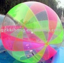 fun colored water ball