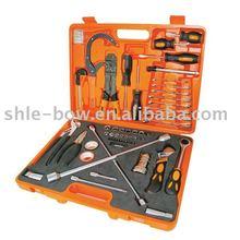 LB-065A 66pcs auto repair tool set in orange blow modle case