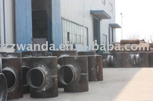 carbon steel Exchange gas tee pipe fitting