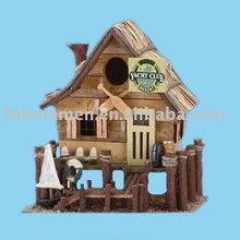 Home decorative resin birdhouse