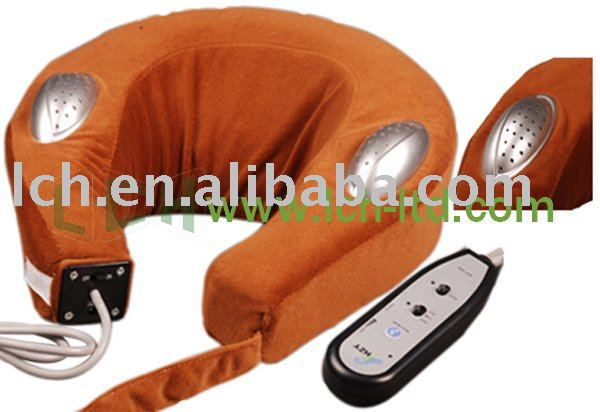Electric Handheld Rolling Neck Massager