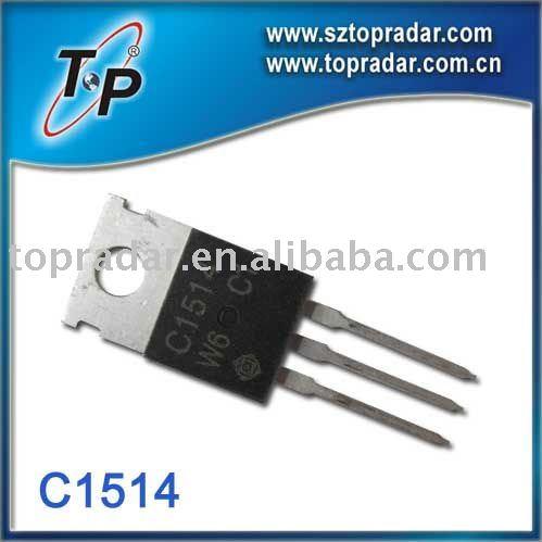 c1514 del transistor
