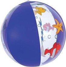 inflatable beach ball with funny cartoon design