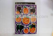 pumpkin halloween decoration paster
