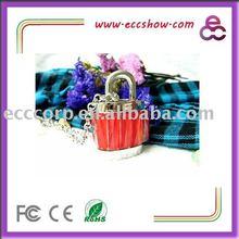 Jewelry Crystal Locker USB Flash Drive