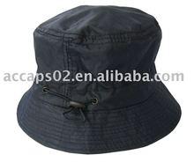 black bucket hat BH-203