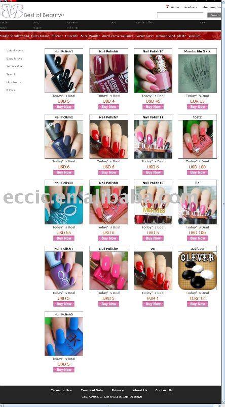 Where Nail Polish Websites Creative Touch