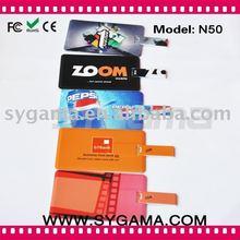 2011 Hotselling!!Fashion Name card mp3 as card reader